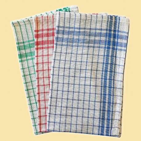 CHECKED DISH CLOTH – Product Code 500