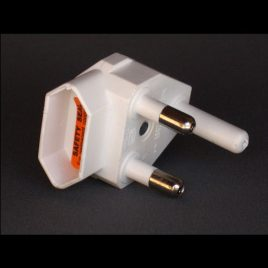 ELECTRICAL EURO PLUG ADAPTOR - BOTTOM ENTRY Product code - 352