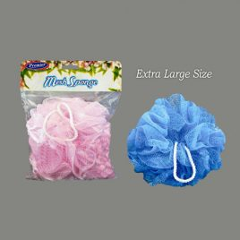 MESH SPONGES LARGE - Assorted Colours - Product Code 215