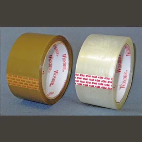 PACKAGING TAPE – CLEAR AND BUFF