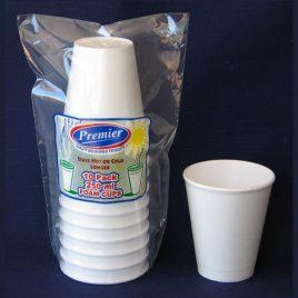 POLYSTYRENE CUPS - 250 ml