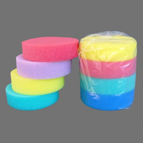 ROUND SPONGES – 4 PACK – Product Code 102