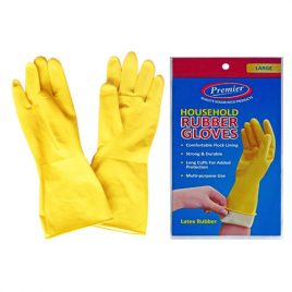 RUBBER WASHING UP GLOVES - ASSORTED SIZES AVAILABLE