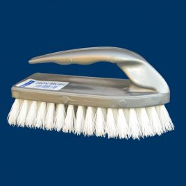 Premier Houseware SCRUBBING BRUSH - IRON SHAPE Product Code 4524