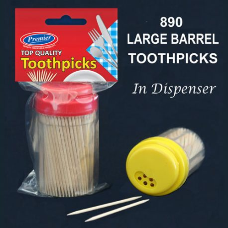 TOOTH PICKS in dispenser – Product Code 890