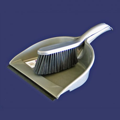 DUSTPAN & BRUSH  SET  WITH RUBBER edge – Product Code 4806